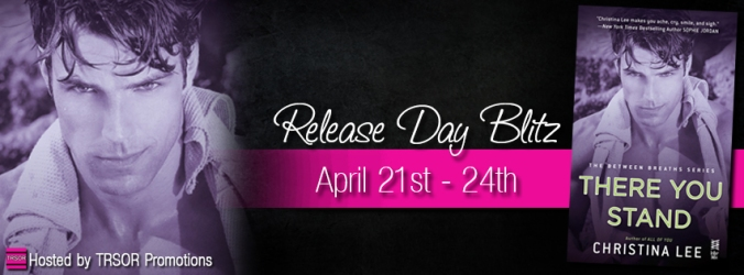 there you stand release day blitz